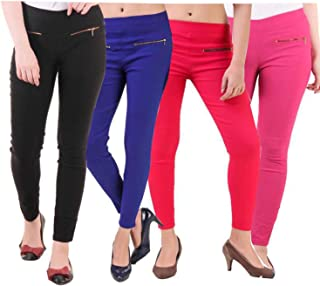 ALIYAA Women/Girls/Ladies Hot Latest Stretchable Slim Fit Jeggings/Pant for Casual & Office wear