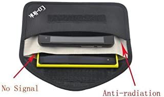 Cell Phone Anti-Tracking Anti-Spying GPS RFID Signal Blocker Pouch Case Bag Handset..