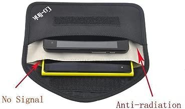 Cell Phone Anti-Tracking Anti-Spying GPS RFID Signal Blocker Pouch Case Bag Handset Function Bag (Black)