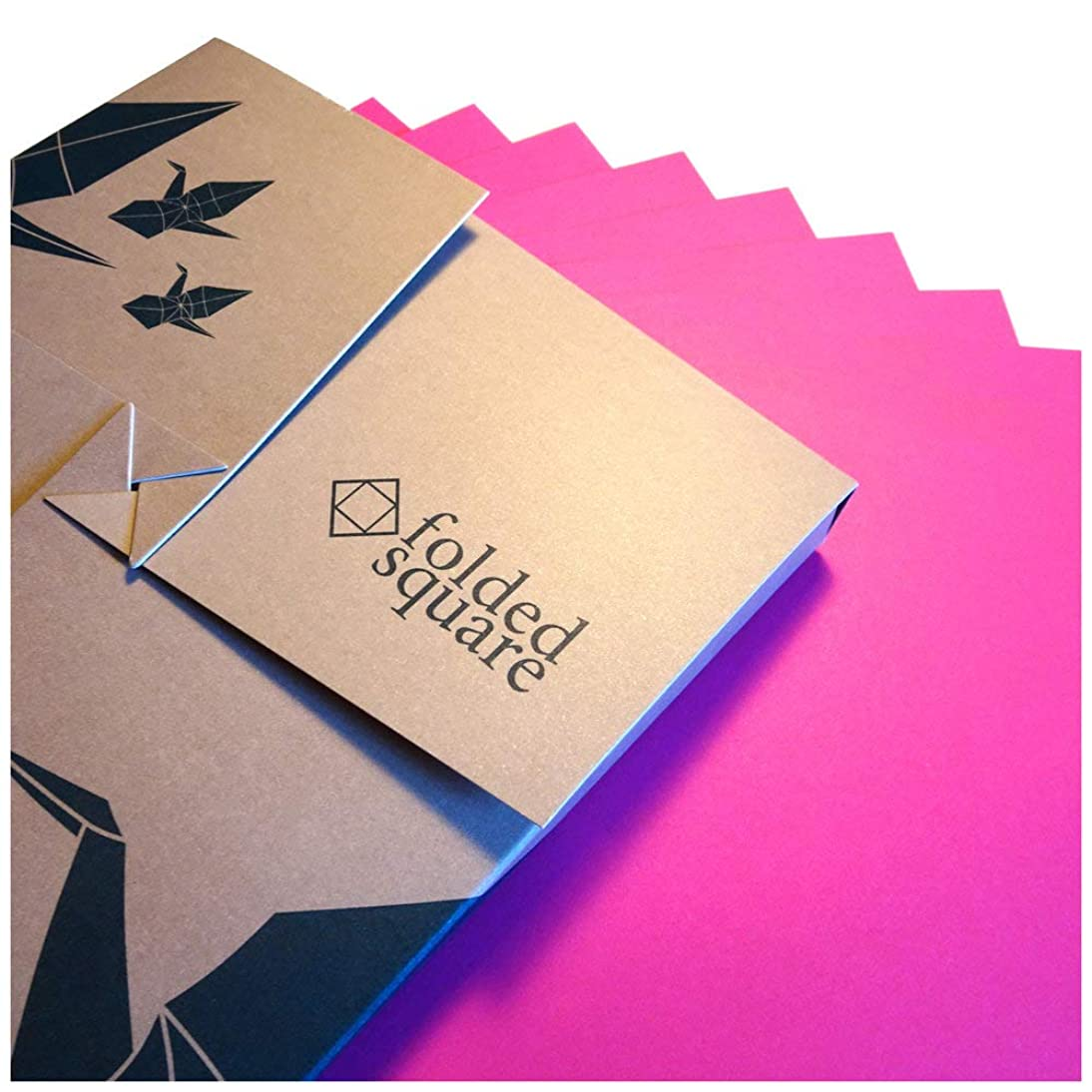 """Pink Origami Paper 