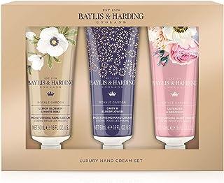 Baylis & Harding Royale Garden 3 Hand Cream Set, 0.3 kilograms