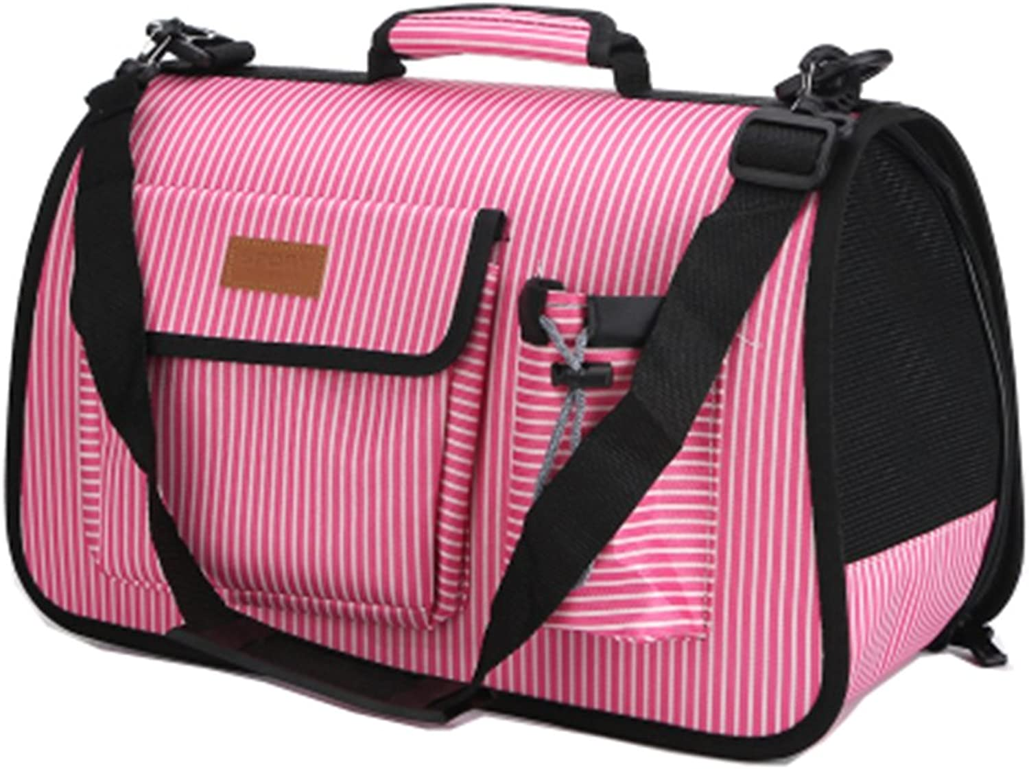 Pet Carrier Soft Sided Travel Bag for Small Dogs & Cats Airline Approved  52