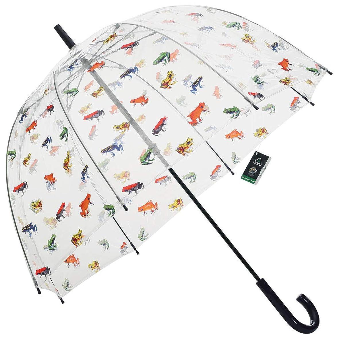 倒産ウォルターカニンガムトランスミッション[フルトン] FULTON ビニール傘 長傘 レディース傘 雨傘 バードケージ インザパンドゥ Birdcage-2 In The Pond L042 033630 [並行輸入品]