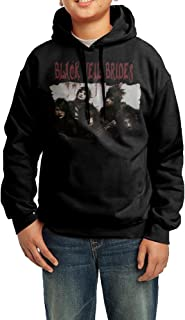 YHTY Youth Unisex Hoodie Black Veil Brides Band Black