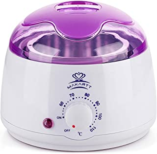 Makartt Hot Wax Warmer, Hard Wax Heater Pot, Mini Hair Removal Machine
