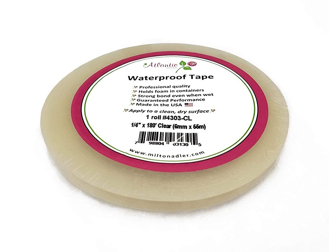 Clear Floral Tape 1/4