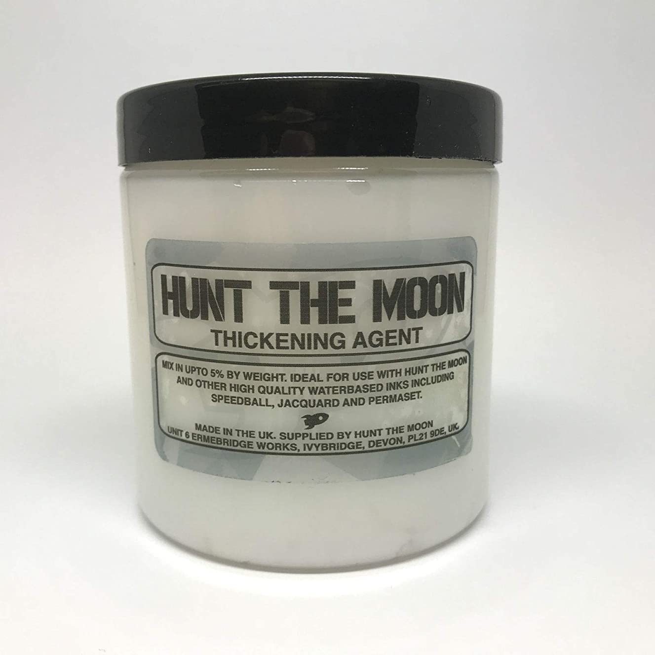 Hunt The Moon Water Based Screen Printing Ink Thickening Agent, Additive, 240ml