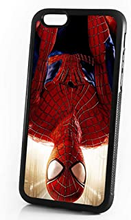 ( For iPhone 8 Plus / iPhone 7 Plus ) Durable Protective Soft Back Case Phone Cover - A11039 Spiderman