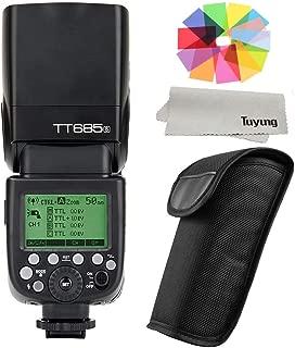 【正規品 技適マーク付き日本語説明書付】GODOX Thinklite TT685S TTL 2.4G 無線ラジオシステム マスターとスレーブ スピードライト 懐中電灯 ストロボ Sony A77II A7RII A7R A58 A99 ILCE6000L適用