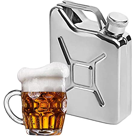Wine Whisky Pot Liquor Bottle Drinkware Stainless Steel HipFlask Flagon Portable