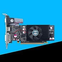 MeterMall CE Geforce - Tarjeta gráfica de Video con chipset GT610 (1 GB, DDR2 para PC y Estuche LP)