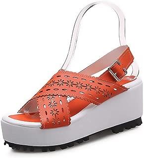 BalaMasa Womens ASL06242 Pu Platforms Sandals