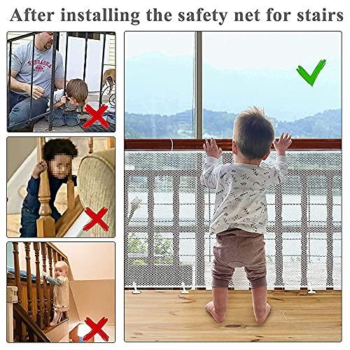 Anyingkai Barreras para puertas y escaleras