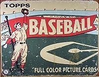 Topps Baseball 1954ティンサイン