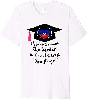 Haiti Pride Haitian Graduate 2019 Gift for Her Premium T-Shirt