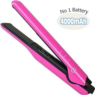 Best battery flat iron hair Reviews