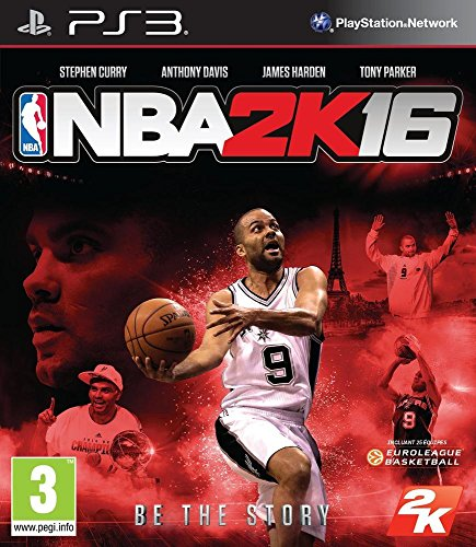 Take-Two Interactive NBA 2K16, PS3 Básico PlayStation 3 Francés vídeo - Juego (PS3, PlayStation 3, Deportes, Modo multijugador, E10 + (Everyone 10 +))