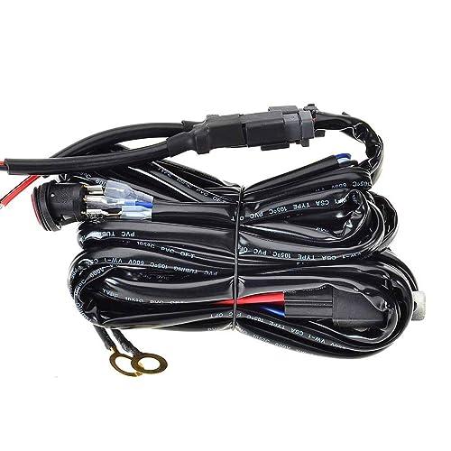 LED Light Bar Wiring Harness: Amazon.co.uk on
