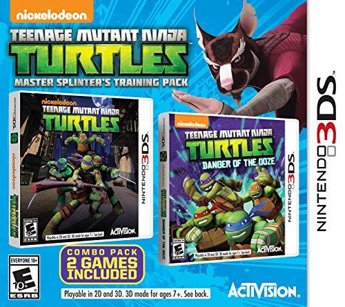 Teenage Mutant Ninja Turtles Master Splinter's Training Pack – Nintendo 3DS