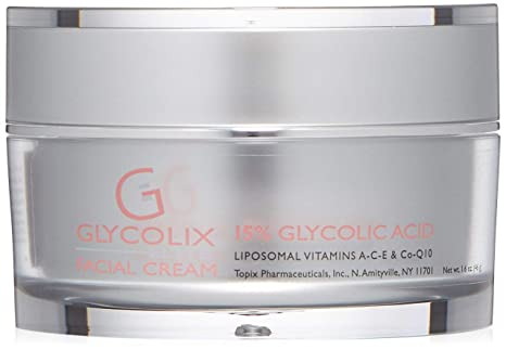 Topix Pharm Glycolix Elite Facial Cream 20 Percent 1 6 Fluid Ounce Premium Beauty Amazon Com