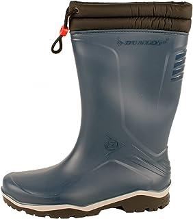 Dunlop Mens Blizzard Lined Boots, Blue (Blue/Grey/Black), 12. 5 UK (47 EU)