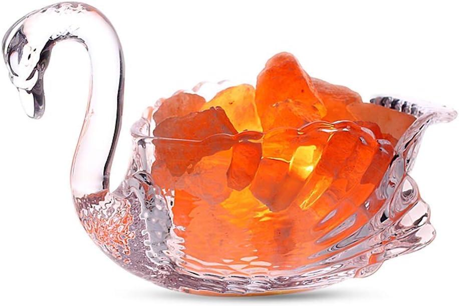 HONYGE LXGANG Desk Lamp Nordic Rock Popular Popular product product Swan Creativity Salt Crystal