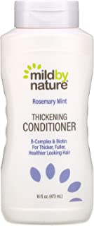 Mild By Nature Thickening Conditioner, B-Complex & Biotin, Rosemary Mint, 16 fl oz (473 ml