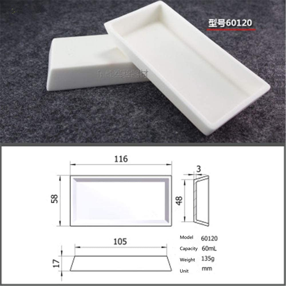 Laliva 99.5% Square corundum crucible Temperature 60120 Sales of SALE items from new Popular product works 60ml
