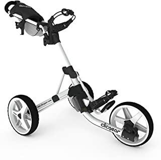 Clicgear Model 3.5+ Golf Push Cart - Arctic/White