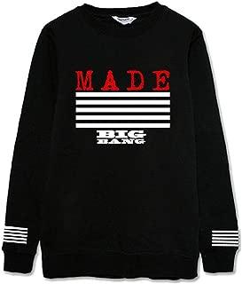 Bigbang Made Sweater G-Dragon GD Taeyang Sweatshirt Hoodie