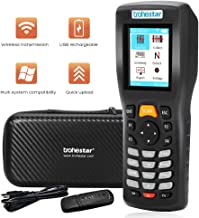 Trohestar Nuberopa N5 Wireless Barcode Scanner 1D/2D/QR/PDF417 Bar Code Reader Handheld Inventory Counter Data Collector (Rechargeable)