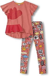 Conjunto de roupa privativa Fun, Lilica Ripilica, Meninas