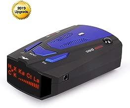 HOLDJOVE Extreme Long Range Radar Laser Detector GPS, DSP, Voice Alert,V7 Radar Detector (Blue)
