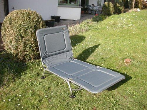 Kerry SLIM STABIELO - 75 cm breed - logeerbed - gestoffeerd comfort inklapbare ligstoel