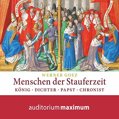 Menschen der Stauferzeit audiobook cover art