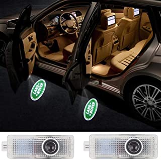 Car Door LED Logo HD Projector Lights Welcome Light for Land Rover Accessories Range Rover LR2 LR3 LR4 Land Rover Evoque F...