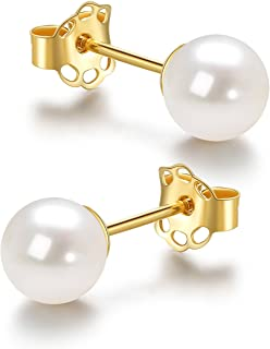 Best 4mm pearl stud earrings Reviews