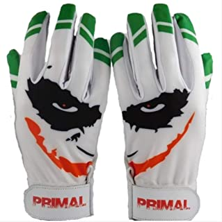 Youth Smiley Joker Baseball Batting Gloves