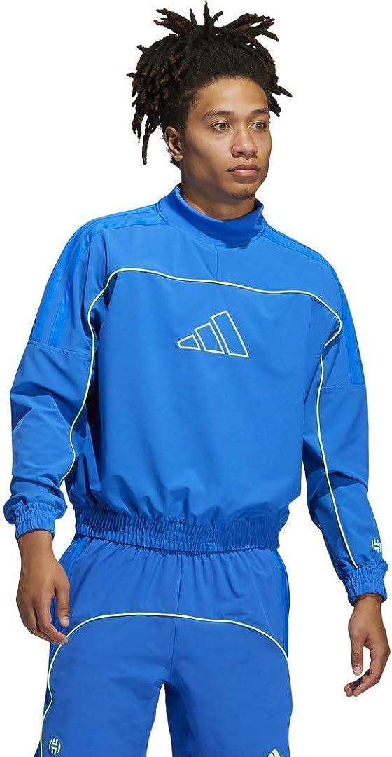 adidas Men's Harden Cross-up Crew Sweatshirt