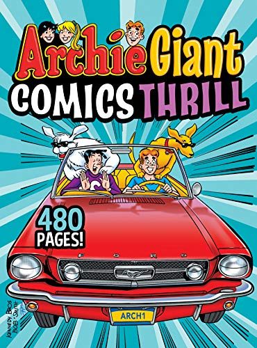 Archie Giant Comics Thrill (Archie Giant Comics Digests Book 18) (English Edition)