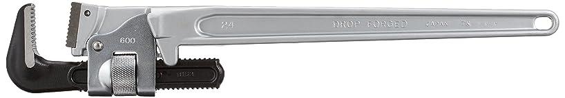 ピンチぴかぴかエキスHIT アルミパイプレンチ 600mm ALP600