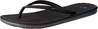 Nike Women's Solarsoft Thong 2 Flip Flops, Black/Cool Grey-Black-Cool Grey