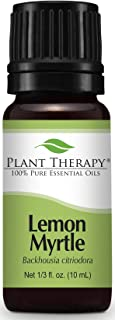 Plant Therapy Lemon Myrtle Essential Oil 10 mL (1/3 oz) 100% Pure, Undiluted, Therapeutic Grade