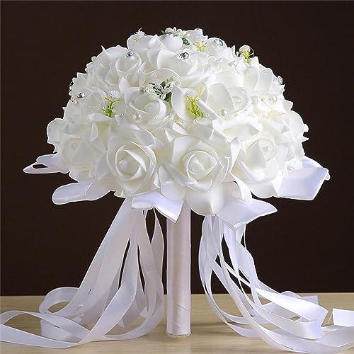 Fake Wedding Flowers Uk: Artificial Wedding Bouquets: Amazon.co.uk