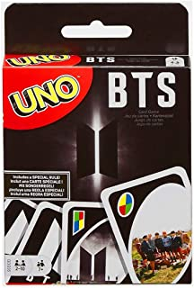 Bulex UNO: BTS, Classic UNO Card Game, Fun Card Game