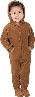 Teddy Bear Infant Hoodie Chenille Onesie