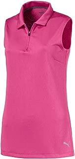 Women's 576159 Jacquard Sleeveless Shirt, X-Large, Magenta Haze
