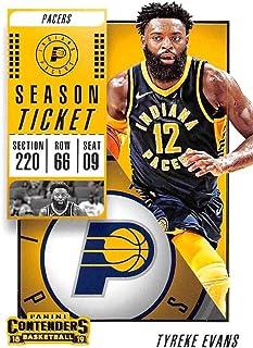 2018-19 Panini Prizm #94 Tyreke Evans Indiana Pacers Basketball Card