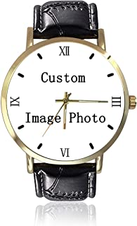 Custom Mens Watches - Custom Womens Watches - Personalized Mens Womens Watches - Customized Watches for Men Women Family Boyfriend Girlfriend