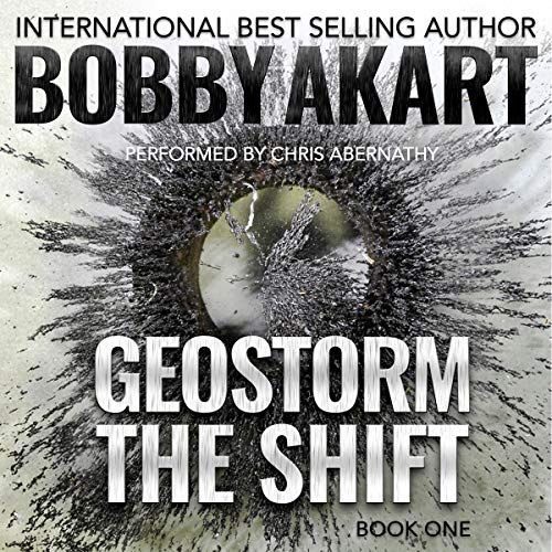 Geostorm: The Shift audiobook cover art
